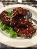 Chinese Singapore style dish Royalty Free Stock Photo