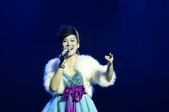 Chinese singer zhang min Stock Photos
