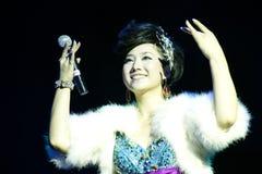 Chinese singer zhang min Royalty Free Stock Image