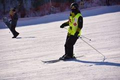 Chinese ski sports Royalty Free Stock Image