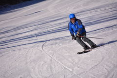 Chinese ski sports Stock Photo