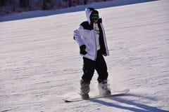 Chinese ski sports Stock Image