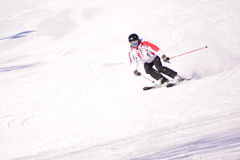Chinese skisporten stock foto's