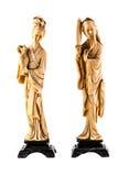 Chinese slender figurine Stock Photo