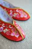 Chinese Slippers Stock Photos