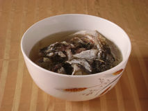 Chinese slow cooked fish soup Stock Images