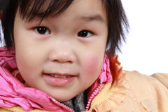 Chinese small girl Stock Image