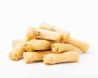 Chinese small spring rolls Royalty Free Stock Photography