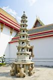 Chinese Small Stupa Stock Photo