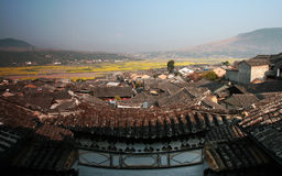 Chinese small town Royalty Free Stock Photo