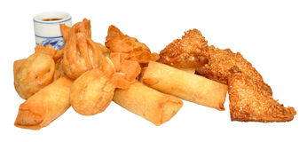 Chinese Snack Selection Royalty Free Stock Image