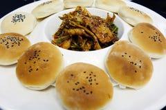 Chinese snacks guokui Royalty Free Stock Images