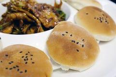 Chinese snacks guokui Stock Images