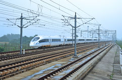 Chinese snelle trein Royalty-vrije Stock Afbeelding