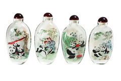 Chinese Snuff Bottles Stock Image