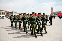 The Chinese soldiers Royalty Free Stock Photography