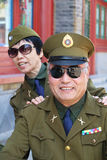 Chinese soldiers Royalty Free Stock Images