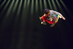Chinese solo dance  Stock Images