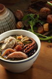 Chinese soup Royalty Free Stock Image