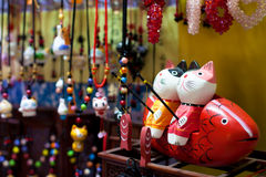 Chinese souvenir shop Stock Photo