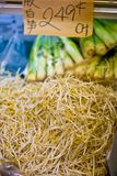 Chinese Soy Beansprout in a Fresh Market Royalty Free Stock Images