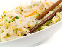 Chinese Soybean Salad Stock Photo