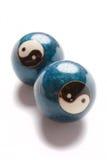 Chinese spanningsballen Stock Foto's