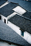 Chinese style roofs Stock Photos