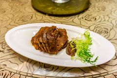 Chinese Spiced Beef royalty free stock photo
