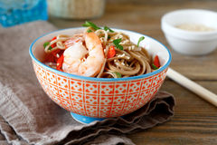 Chinese spicy noodles Stock Photography