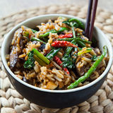 Chinese Spicy stir fry Royalty Free Stock Photography