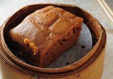 Chinese sponge cake. Chinese dim sum malaysia sponge cake Royalty Free Stock Photo