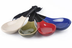 Chinese Spoons stock photography