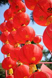 Chinese Spring Festival. Chinese lanterns royalty free stock photos