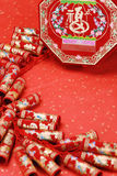 Chinese spring festival decoration Royalty Free Stock Image