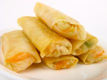 Chinese spring roll Stock Photos