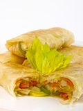 Chinese spring roll Stock Photo