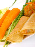 Chinese spring roll Royalty Free Stock Photography