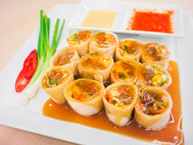 Chinese spring roll Stock Images