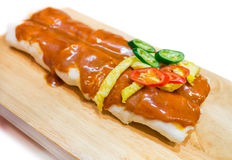 Chinese spring roll Royalty Free Stock Images