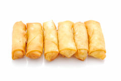 Chinese spring rolls Royalty Free Stock Image