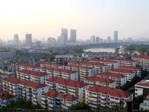 Chinese stad Royalty-vrije Stock Afbeeldingen