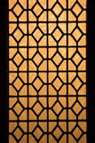 Chinese stained glass window Royalty Free Stock Photo