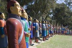 Chinese standbeelden Royalty-vrije Stock Afbeeldingen