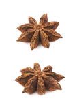 Chinese star anise seed isolated Royalty Free Stock Photo