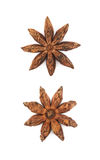 Chinese star anise seed isolated Royalty Free Stock Photography