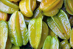 Chinese star fruit Royalty Free Stock Image