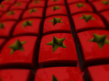 Chinese stars Stock Photo