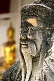 Chinese Statue – Wat Po, Bkk. This image was shot at Wat Po, in Bangkok, Thailand Stock Images