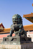 Chinese statue Royalty Free Stock Image